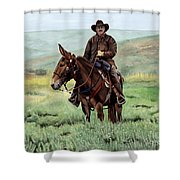 Memories Of Molly Shower Curtain
