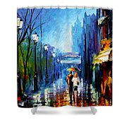 Memories Of Paris Shower Curtain