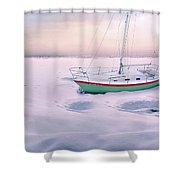 Memories Of Seasons Past - Prisoner Of Ice Shower Curtain