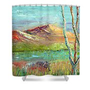 Memories Of Somewhere Out West Shower Curtain