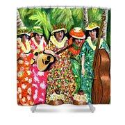 Memories Of The Kodak Hula Show At Kapiolani Park In Honolulu #20 Shower Curtain