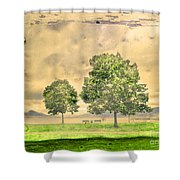 Memories Of The Lake Shower Curtain