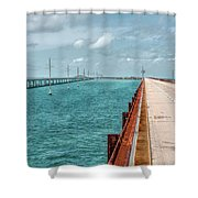 Memories Of The Overseas Railroad Shower Curtain