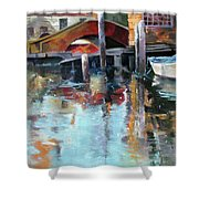 Memories Of Venice Shower Curtain