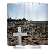 Memories On The Beach Shower Curtain