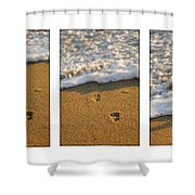Memories Washed Away Shower Curtain