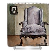Memory Chair Shower Curtain