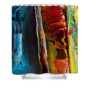 Memory From Africa 01 Shower Curtain