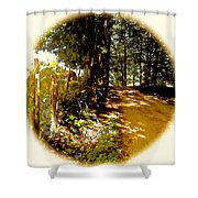Memory Lane Shower Curtain
