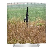 Memory's Of Water Pumped Shower Curtain