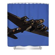 Memphis Belle Shower Curtain