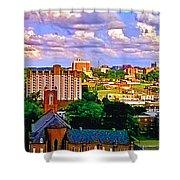 Memphis Church Shower Curtain