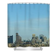 Memphis Skyline Shower Curtain