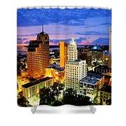 Memphis, Tennessee Shower Curtain