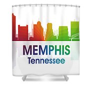 Memphis Tn Shower Curtain