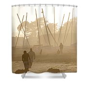 Men And Marina Shower Curtain