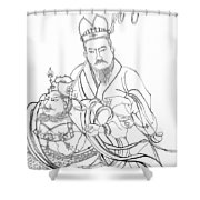 Men Of The East Shower Curtain