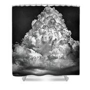 Menacing Cloud Shower Curtain