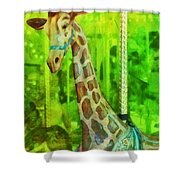 Menagerie Shower Curtain