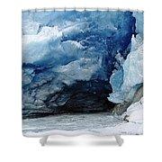 Mendenhall Glacier Face Shower Curtain
