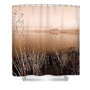 Mendocino Morning Shower Curtain