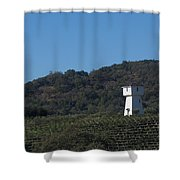 Mendocino Tankhouse Shower Curtain