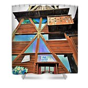 Mendocino Water Tower Shower Curtain