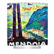 Mendola, Italy, Landscape Shower Curtain