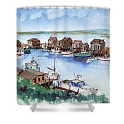 Menemsha Safe Haven Shower Curtain