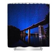 Menesetung Bridge Shower Curtain