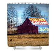 Meramec Caverns Barn Shower Curtain