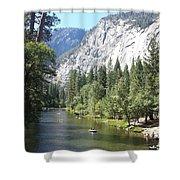 Merced River In Yosemite Shower Curtain