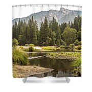 Merced River Yosemite Valley Yosemite National Park Shower Curtain