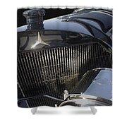 Mercedes 37-05 Torpedo 1913 Shower Curtain