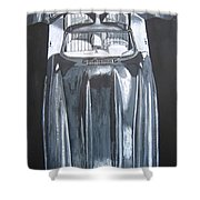 Mercedes Benz Gullwing Shower Curtain