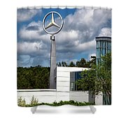 Mercedes - Benz Plant Shower Curtain