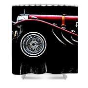 Mercedes Benz Ssk  Shower Curtain