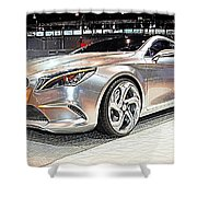 Mercedes Benz Style Coupe Concept Number 2 Shower Curtain