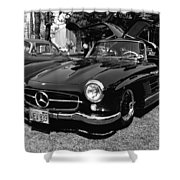 Mercedes Gull Wing Coupe Shower Curtain
