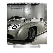 Mercedes Racer Shower Curtain