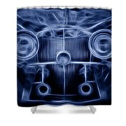 Mercedes Roadster Shower Curtain