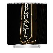 Merchants Shower Curtain