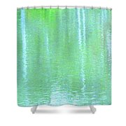 Merciful Is The Love That Watches Shower Curtain