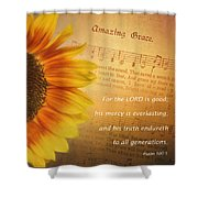 Mercy And Grace Shower Curtain