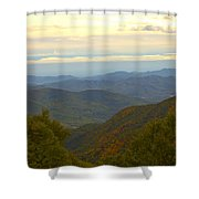 Mercy Me- A Fall View Of Craggy Gardens Nc Shower Curtain