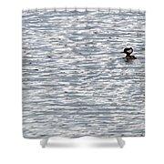 Merganser Shower Curtain
