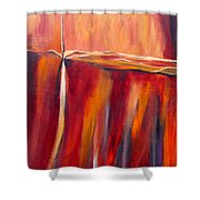 Merge Left Shower Curtain