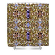 Loma Gold Shower Curtain