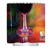Merlot Shower Curtain