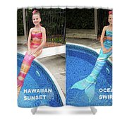 Mermaid Costume For Kids In Canada Shower Curtain